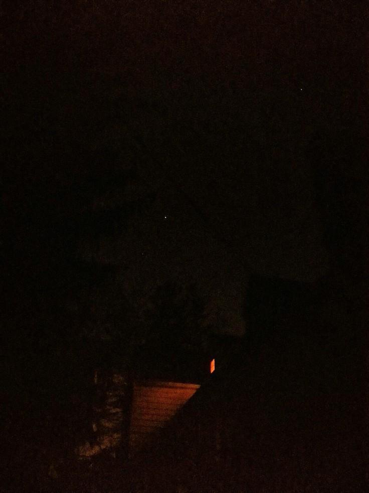 Pulaski Rd at night